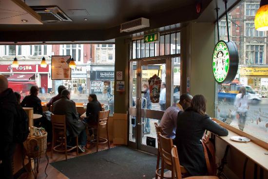 inside the cafe   picture of starbucks london   tripadvisor