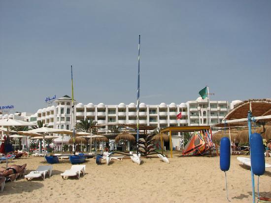 Hotel desde la playa picture of el mouradi hammamet for Mouradi hammamet 5 chambre