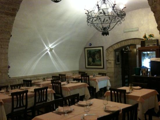 Dentro Le Mura Pizzeria Trattoria: Sala Interna