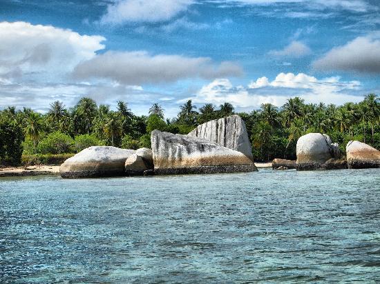 Bangka Belitung Islands, Indonesia: small Island around Belitung
