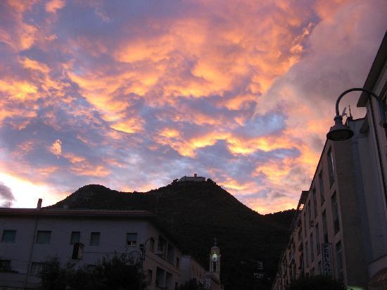 Hotel Ristorante Al Boschetto: Cassino sunset