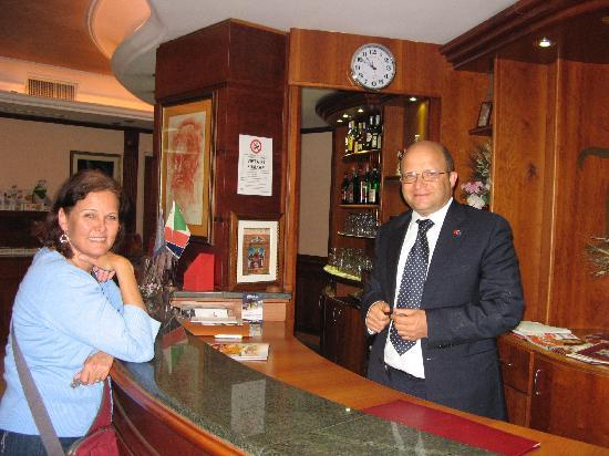 Hotel Ristorante Al Boschetto: Michele