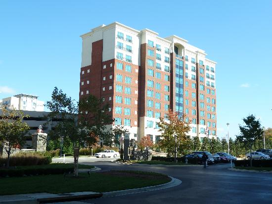 Hampton Inn & Suites National Harbor/Alexandria Area: view from the Gaylord