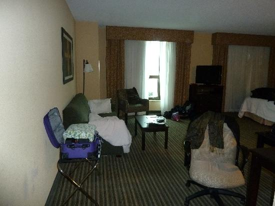 Hampton Inn & Suites National Harbor/Alexandria Area: walking in the door