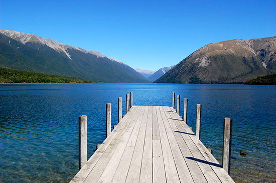 Nelson-Tasman Region, New Zealand: Lake Rotoiti
