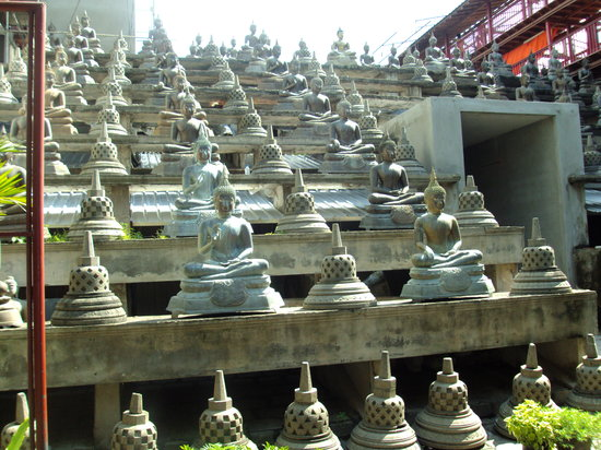 Temple bouddhiste de Gangaramaya