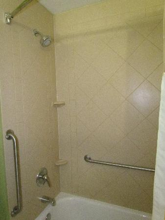 La Quinta Inn & Suites Panama City Beach Pier Park: Clean shower