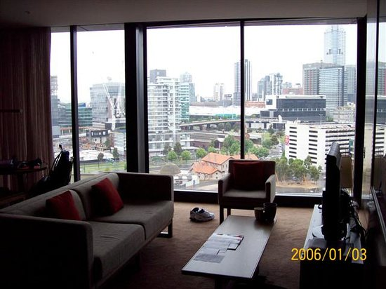 Hilton Melbourne South Wharf: Lounge