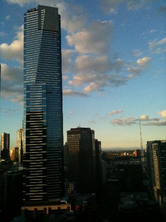 Melbourne Short Stay Apartments Southbank Collection: View towards Dandenongs from room
