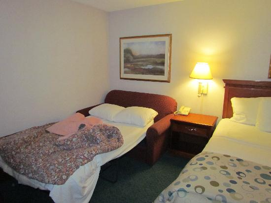 La Quinta Inn Cleveland Independence: Pull out Love Seat