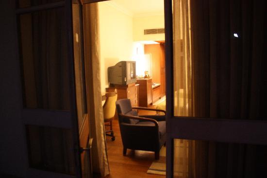โรงแรม เดอะ เรดิสัน แจ๊ส คาจูราโฮ: Aperçu de la terrasse