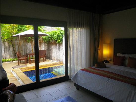 Bandara Resort & Spa: View entering the villa