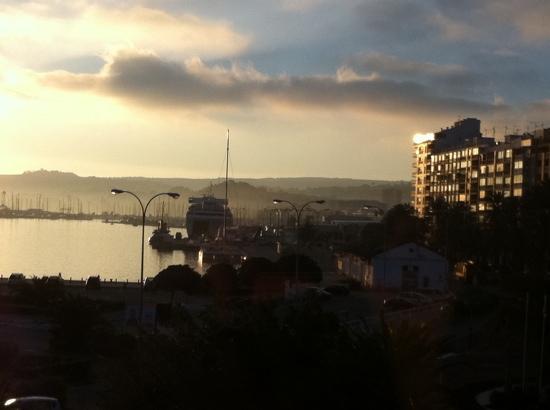 La Posada del Mar : sun rise from room 305