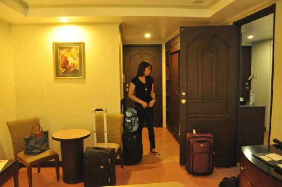 Fersal Hotel Neptune Makati: We booked the family room