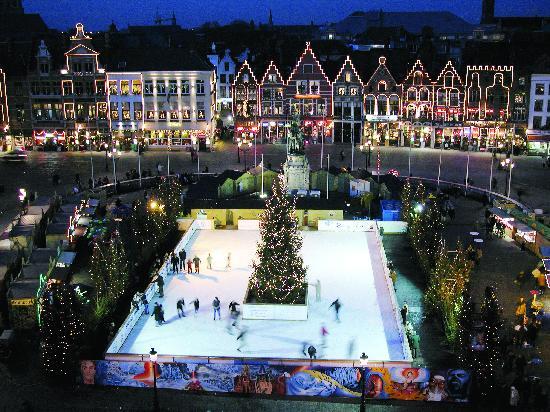 Фландрия, Бельгия: Flandes en invierno