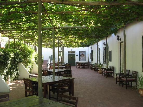 Portwine Guesthouse : The terrace