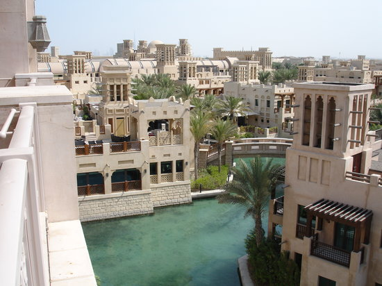 Jumeirah Al Qasr at Madinat Jumeirah: View from our balcony on the third floor