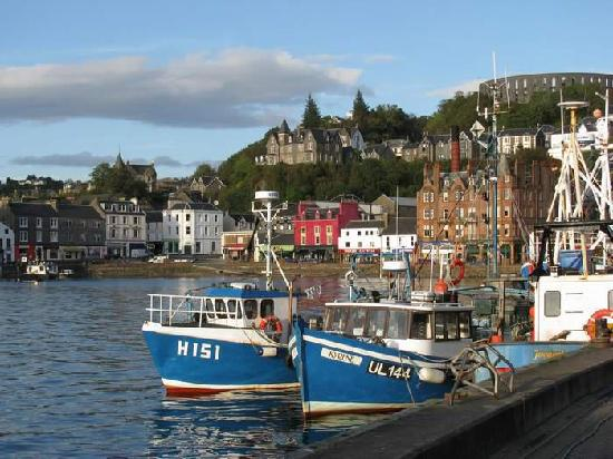 Kilchrenan House: Oban Harbour