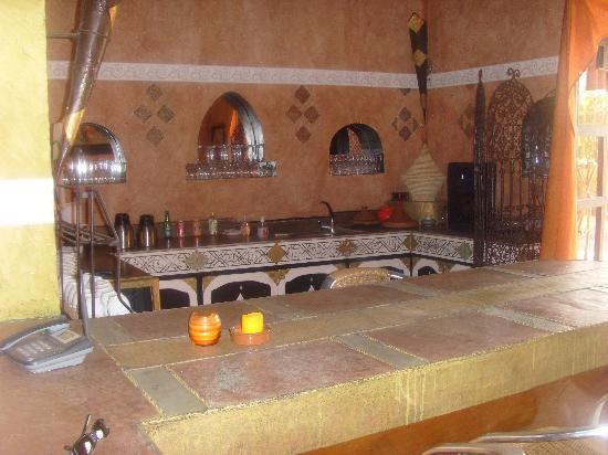 Kasbah Chwiter: cuisine/bar