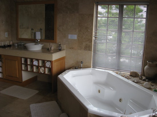 Halcyon House: The huge bathroom
