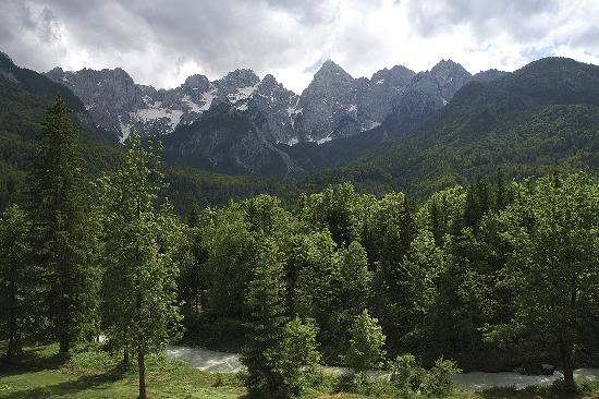 Hotel Spik Alpine Wellness Resort: View from deluxe rooms, Spik 4* alpine wellness resort