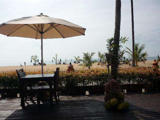 Khaolak Orchid Beach Resort: View from restaurant