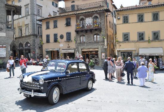 Villa San Crispolto: Fiat 1100