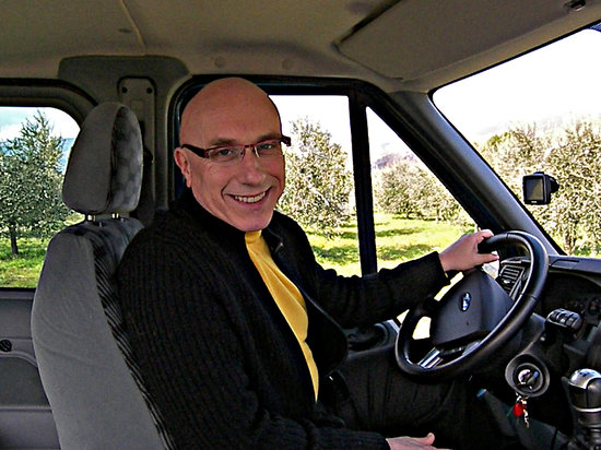 Loro Ciuffenna, Italië: This is me; Sergio your driver and host