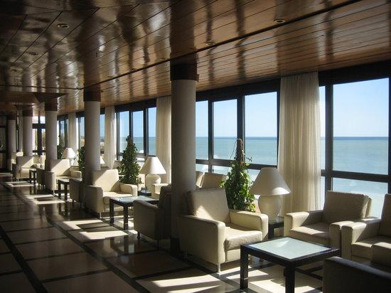 Hotel Sol e Mar : Lounge area