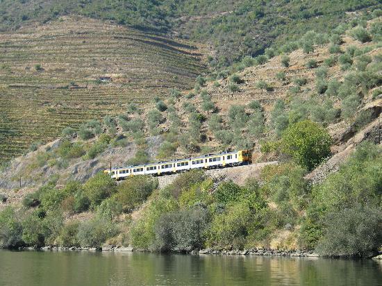 Hotel Douro: The train for Pinhâo