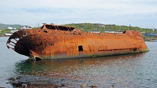 Red Bay National Historic Site: Wrecked Freighter