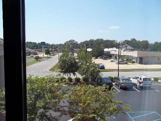 Red Roof Inn Tupelo: view from our room