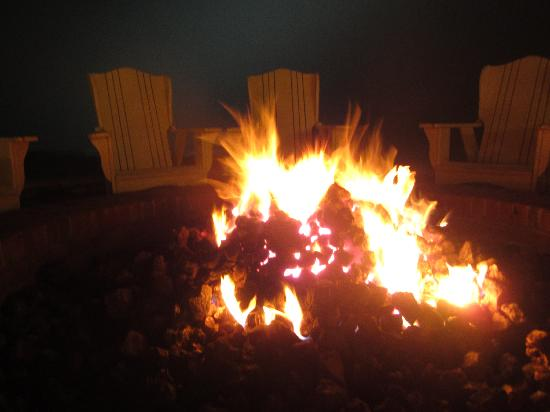 Autumn Night Fire Pit : Fire pit night picture of the ritz carlton half moon