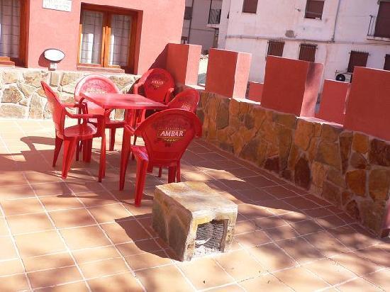 Hotel Dona Blanca: zona trasera
