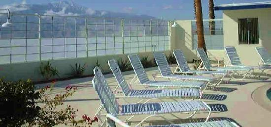 Living Waters Clothing-optional Spa: Lounge Chairs waiting for you!