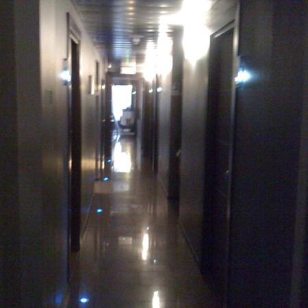 Hotel Five: hallway
