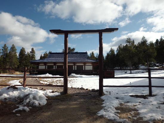 Shoshoni Yoga Retreat: temple for meditation