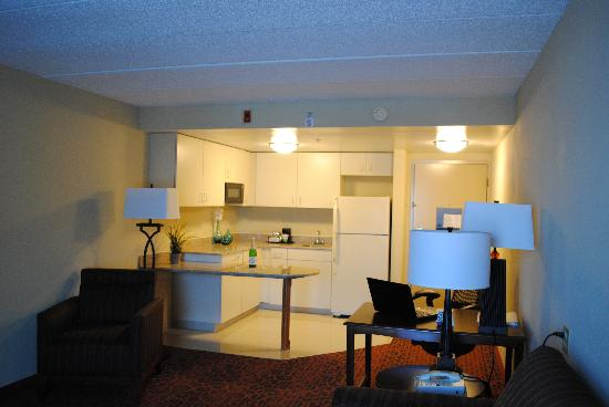Hampton Inn - College Park: King Suite with Kitchenette