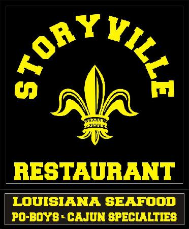 storyville restaurant: our sign