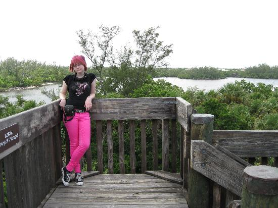 Boca Raton, FL: Top level of the observation tower