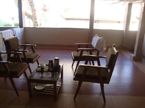 Bharat Hotel : Balcony area