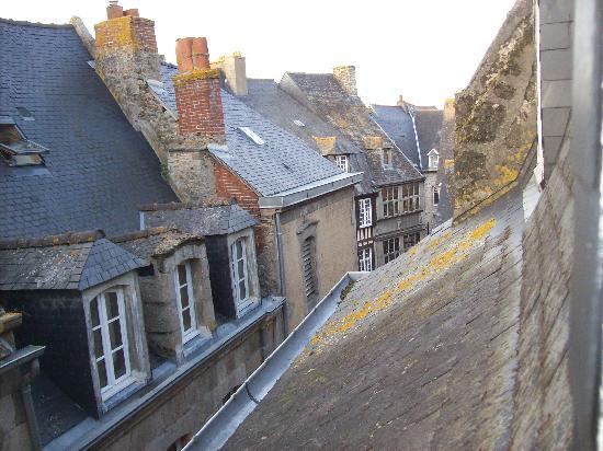 Hotel de La Tour de L'Horloge: Aussicht 1