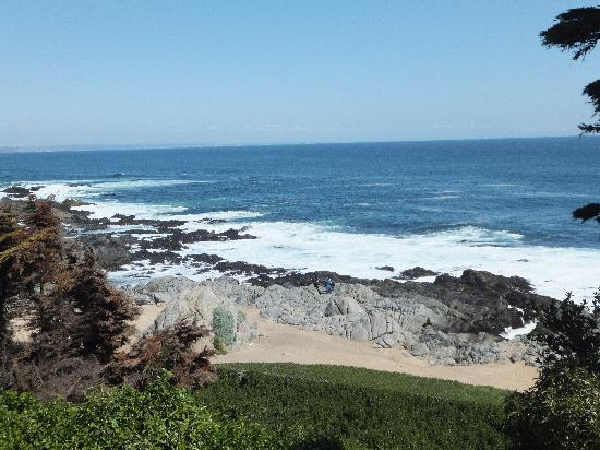 Casa de Pablo Neruda: The view from the house