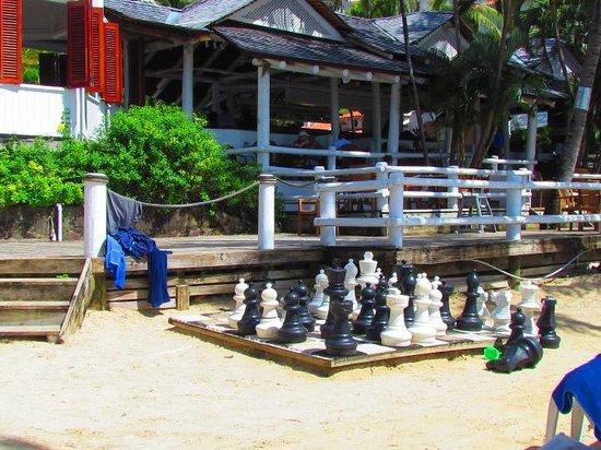 Windjammer Landing Villa Beach Resort : Beach Chess