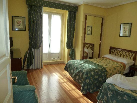 Hotel Norte y Londres: Bedroom