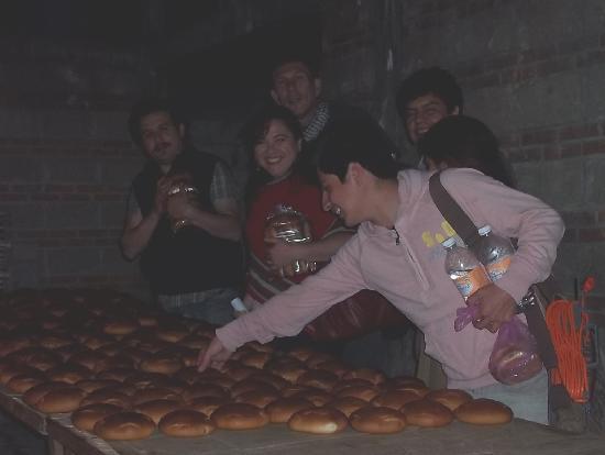 Tenancingo, México: difícil resistir la tentación de comer un pan recién horneado