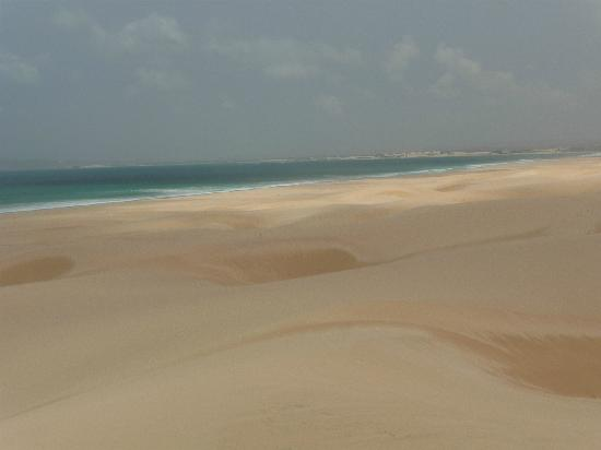 Boa Vista, Zielony Przylądek: Sand dunes - amazing sight