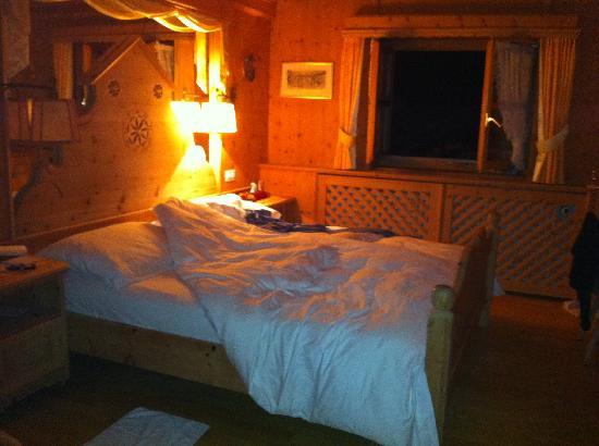 Schlosshotel Chaste : la nostra camera