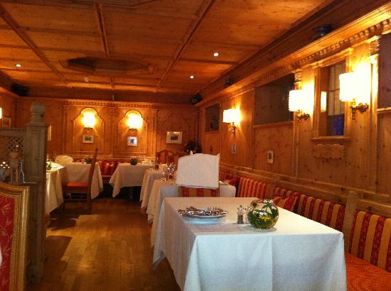 Schlosshotel Chaste : il ristorante