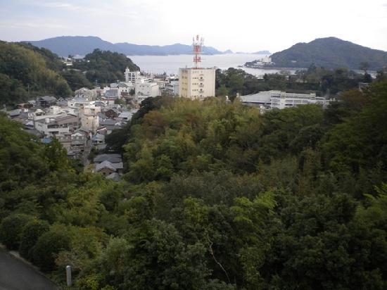 Senpokaku: View from our room.